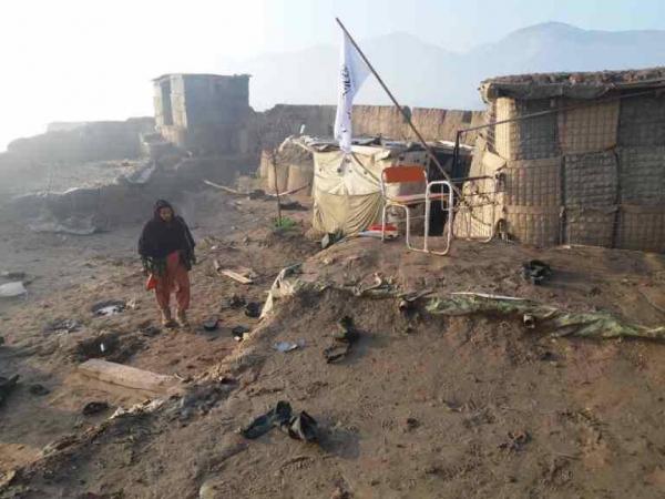 Муджахеддин из узбекской этнической группировки КИБ захватили базу армии в Афганистане