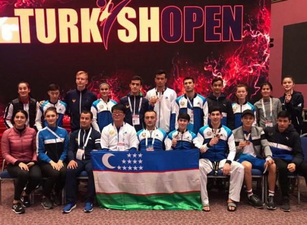 Сборная по таэквондо получила десять медалей на турнире в Турции