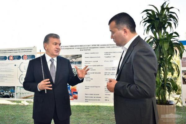 Президенти Шавкат Мирзиёев 19 февраль куни Сирдарё вилоятига ташрифи доирасида