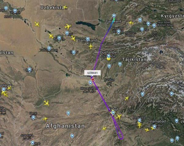 Из-за военного конфликта в Кашмире пассажирские самолеты вынужденно садятся в Ташкенте