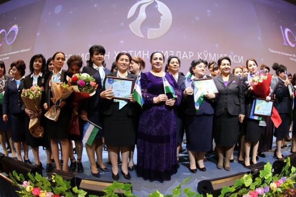 Награждены победительницы конкурса «100 лучших инновационных проектов женщин Узбекистана»