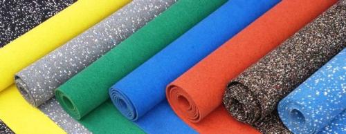 Особенности резинового покрытия