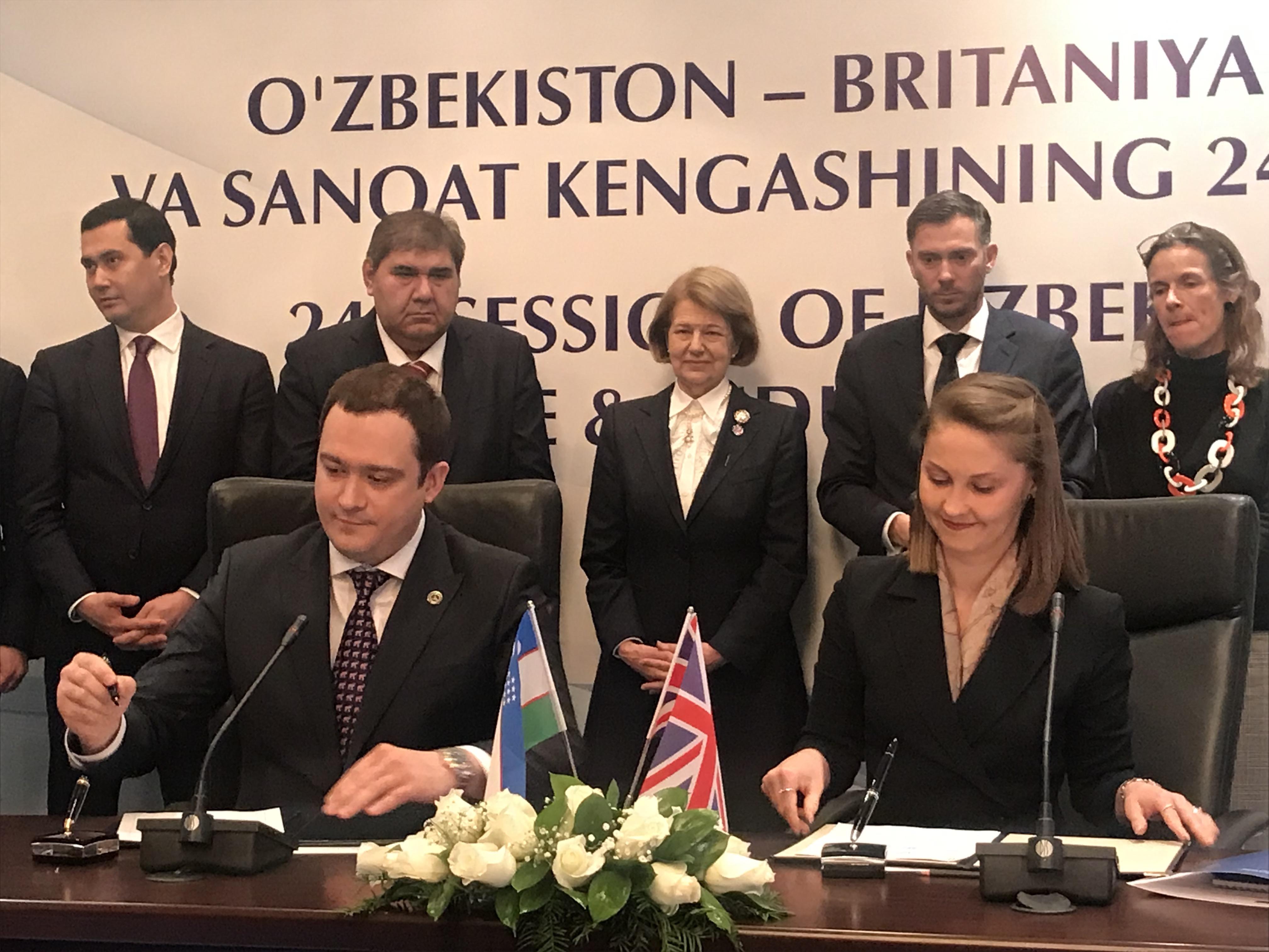 В сферу здравоохранения Узбекистана привносятся британские технологии