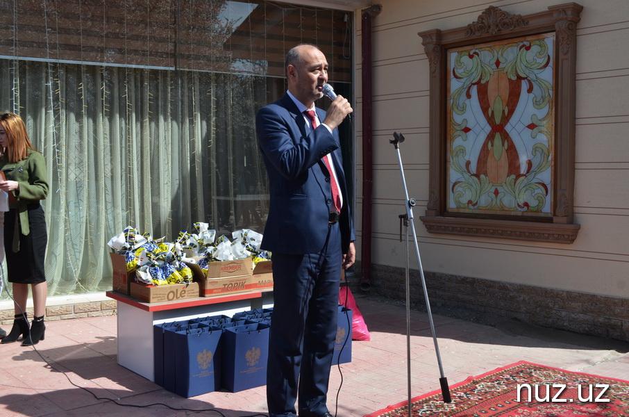 Посол Польши на байке принял участие в благотворительной акции в Чирчике (фото)