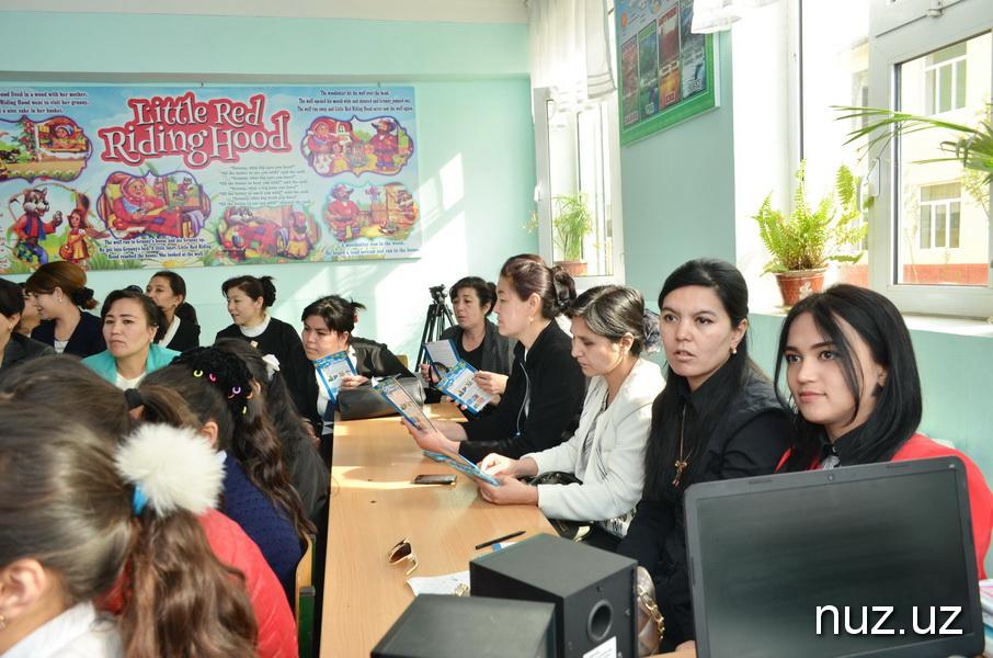 В Узбекистане впервые посадили деревья с применением гидрогеля
