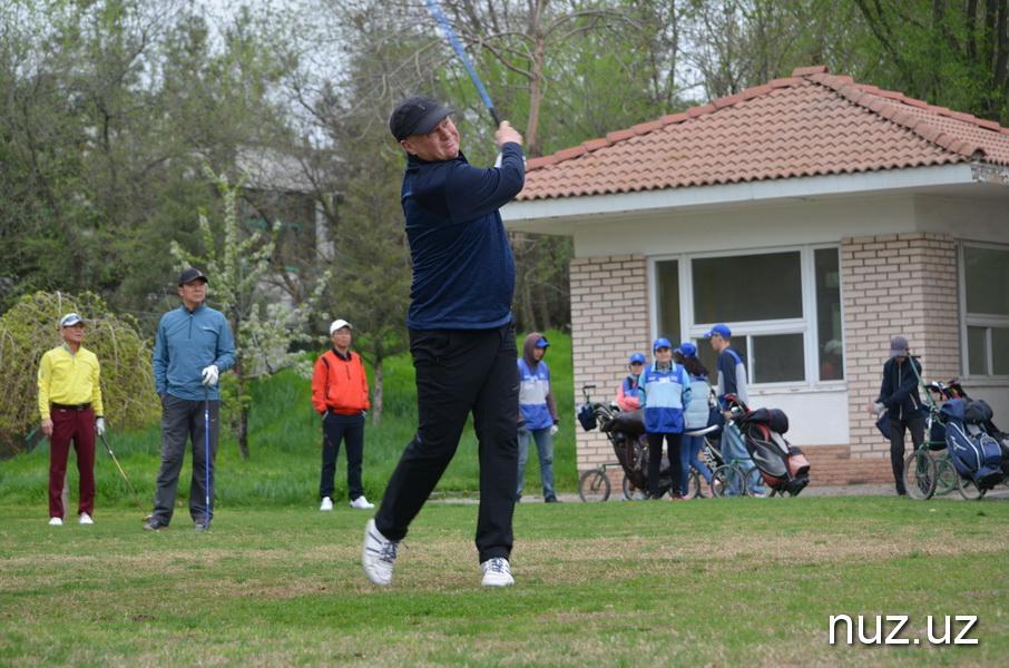 В Ташкенте стартовал II-й Международный турнир по гольфу Uzbekistan open-2019 (Фото)