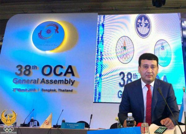 Умид Ахматджанов выбран вице-президентом Олимпийского совета Азии