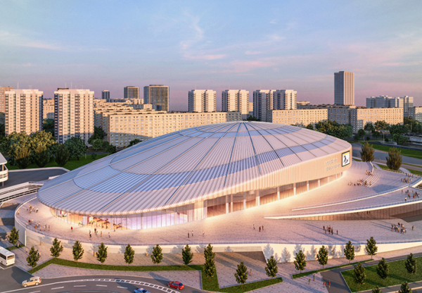 Президент 15 марта лично откроет уникальный ледовый комплекс Humo Arena