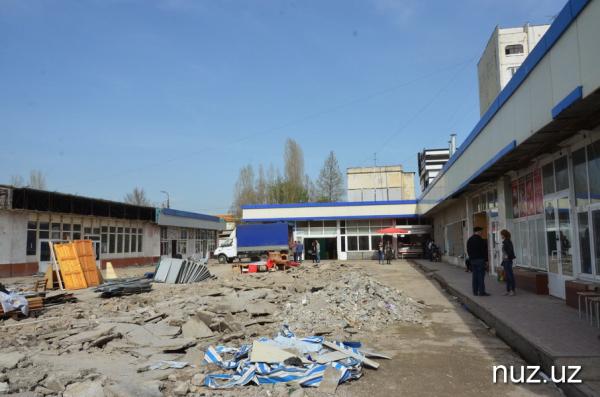 Дело Сергелийской ярмарки: хоким района заявил, что почти половина рынка была построена на «красной линии»