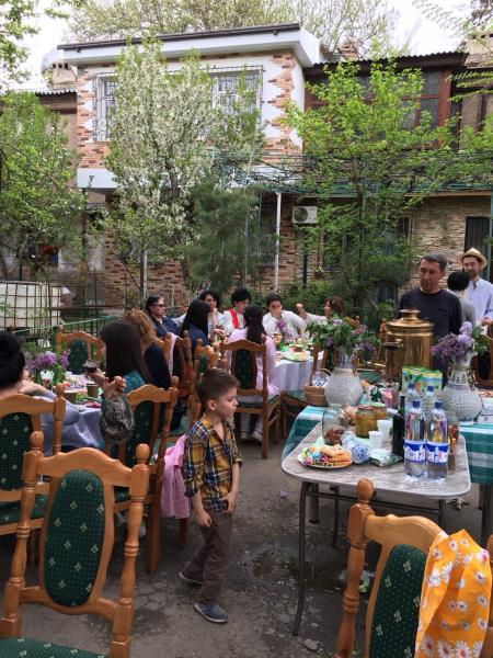 Ташкентский Дом 45 продолжает борьбу за жизнь