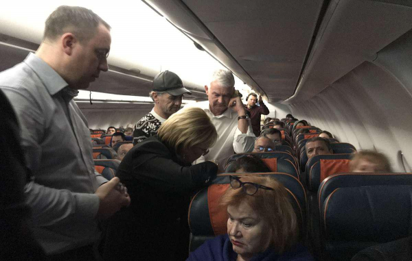 Глава Минздрава России Вероника Скворцова оказала помощь пассажирке самолета Москва - Ташкент