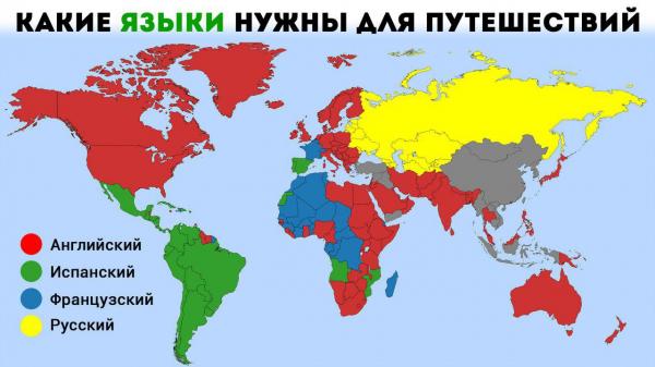 Один мир — четыре языка