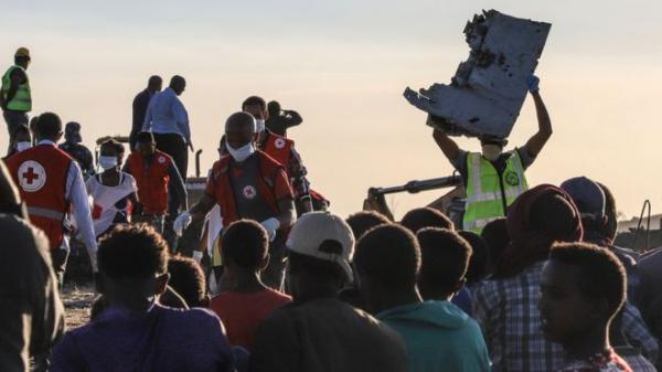 """""""Боинг 737"""" разбился в Эфиопии"""