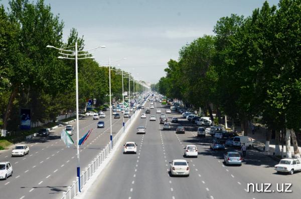 В Ташкенте на целый день перекрыли несколько улиц