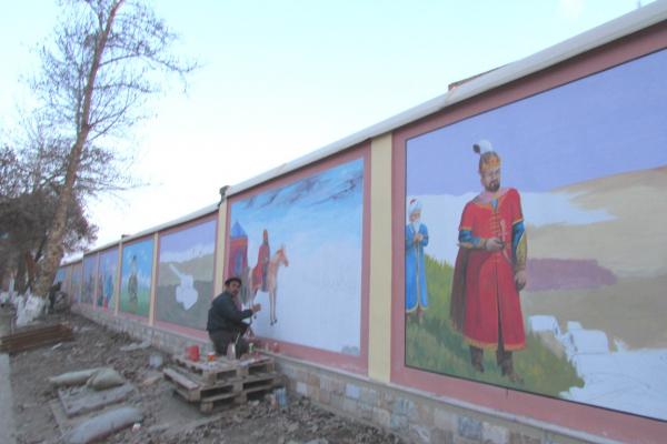В Самарканде  началось строительство патриотического парка