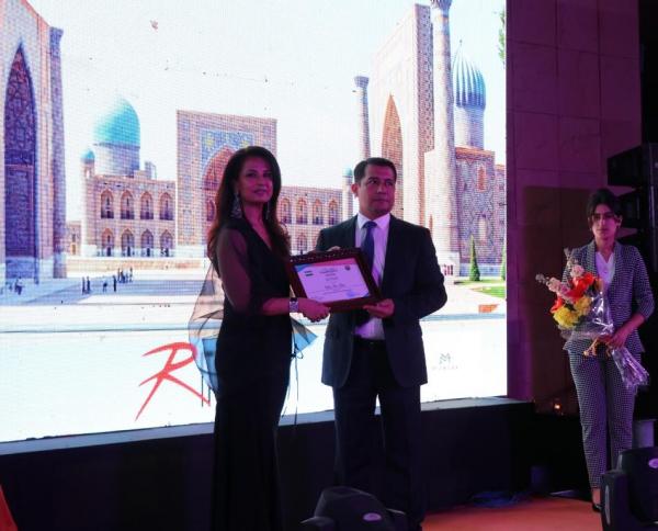 Модельер Риту Бери стала Послом туризма по культуре Узбекистана в Индии
