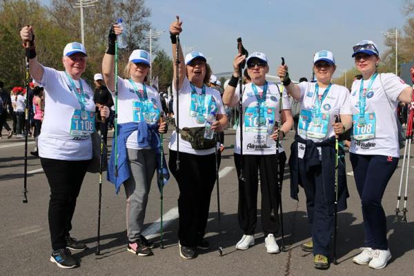 В Ташкенте прошёл Первый международный полумарафон «Навруз»
