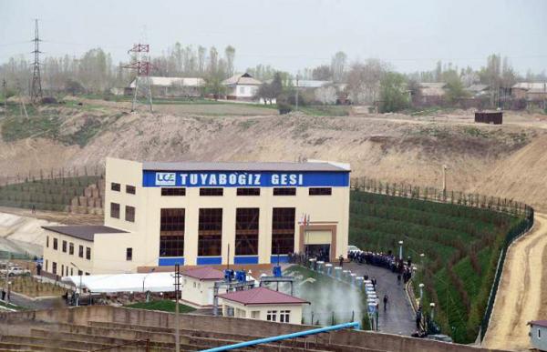 В Ташкентской области начала работу Туябугузская ГЭС