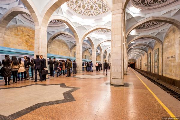 Строительство Сергелийской и Юнусабадской веток ташкентского метро завершат до конца года