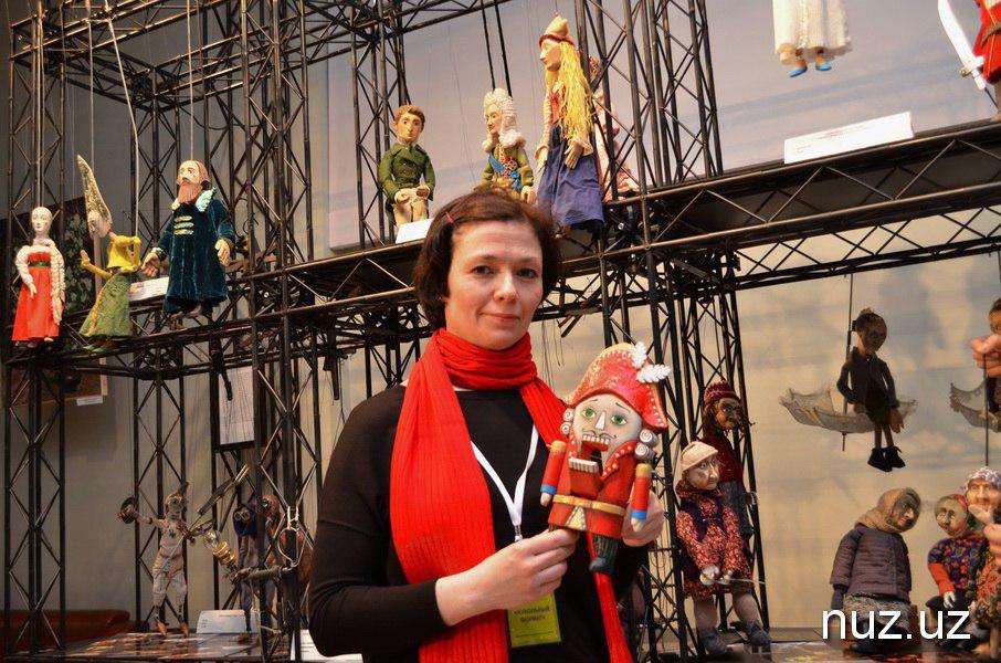 Куклы города белых ночей: в Ташкенте открылась выставка санкт-петербургского театра
