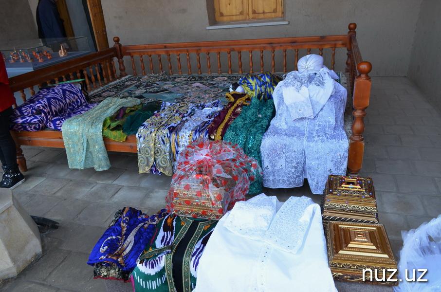 Туркменский городок на окраинах Хивы