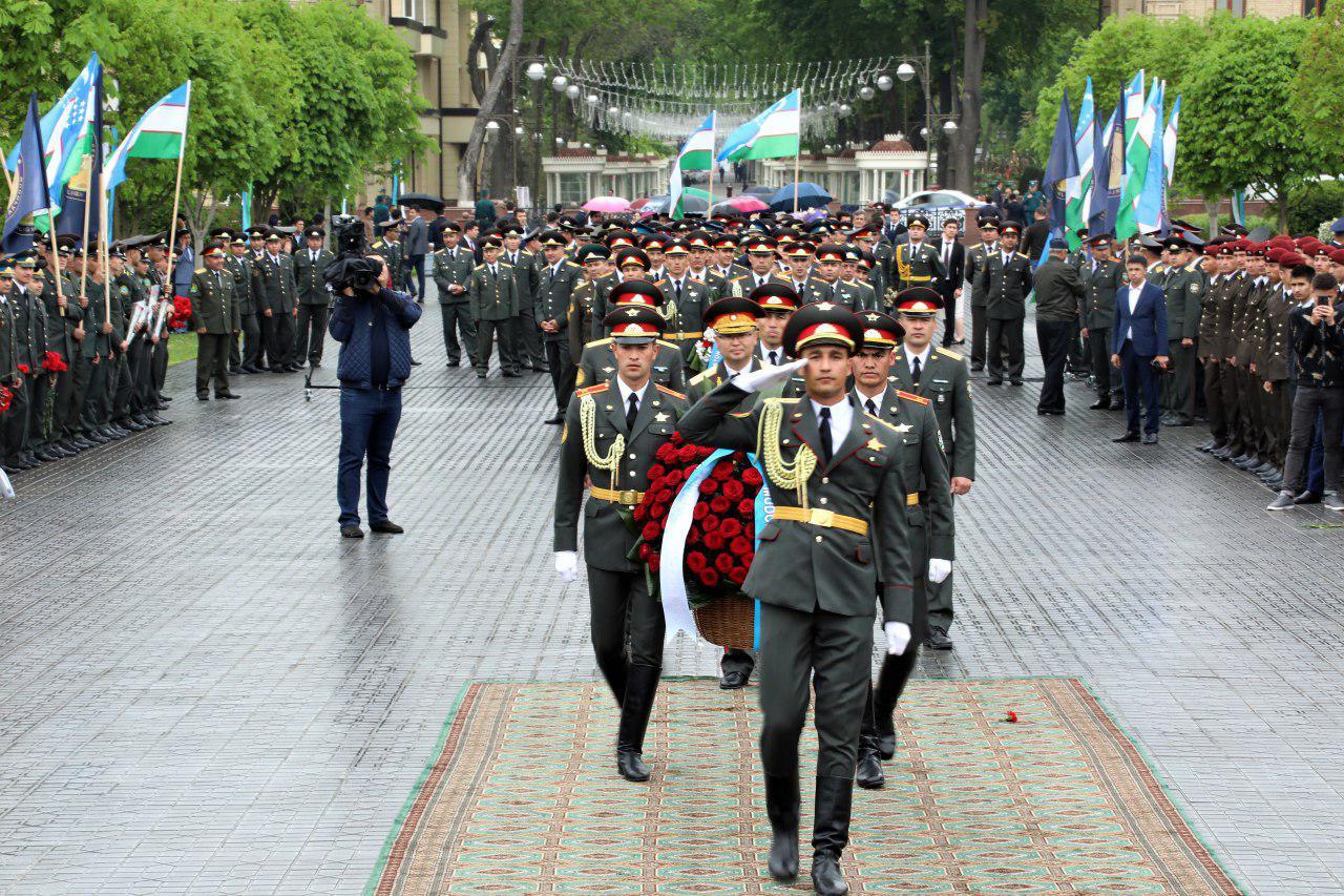 Военнослужащие Минобороны приняли участие в торжествах по случаю 683-летия Сахибкарана