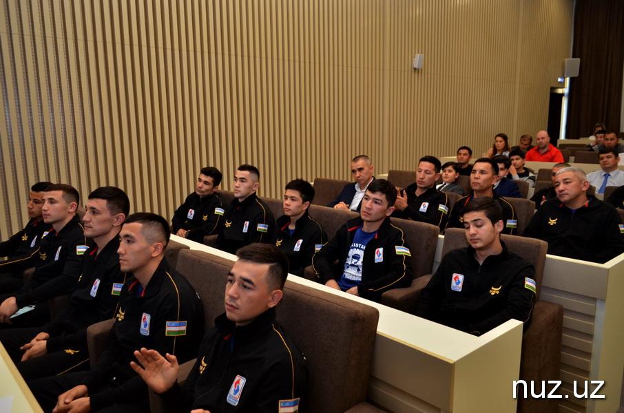 Спортсмены Узбекистана отправляются на Континентальный чемпионат Азии по боксу