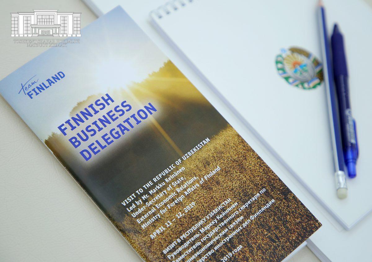 В Узбекистане открылось почетное консульство Финляндии