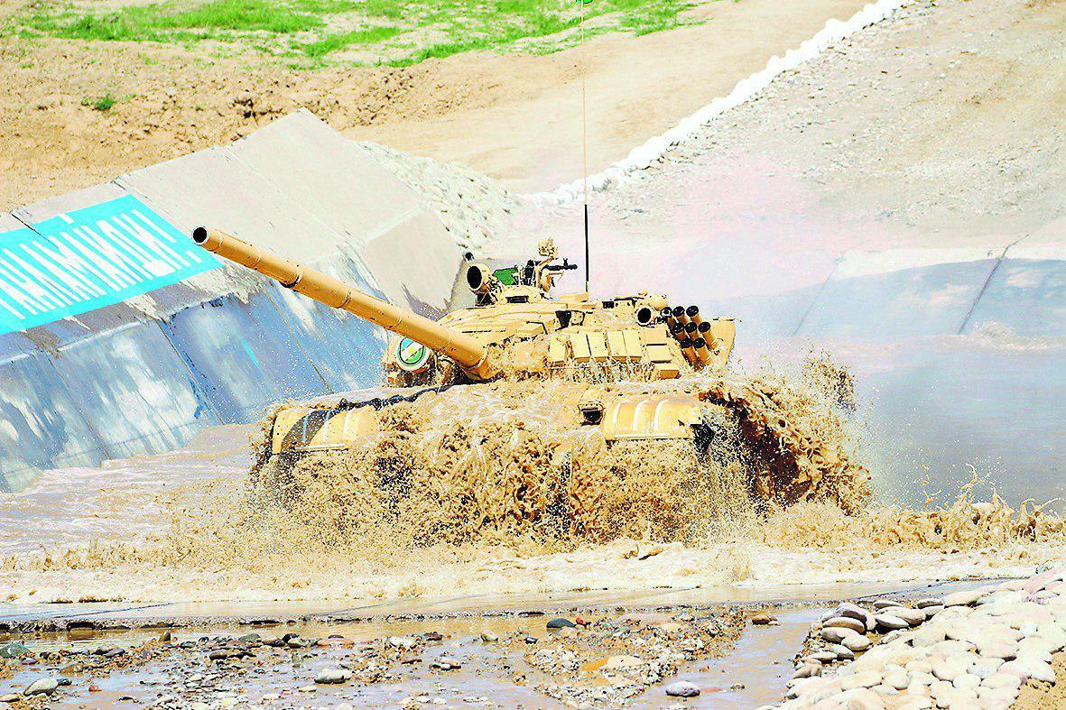 Узбекистан впервые примет участие в международных соревнованиях по танковому биатлону