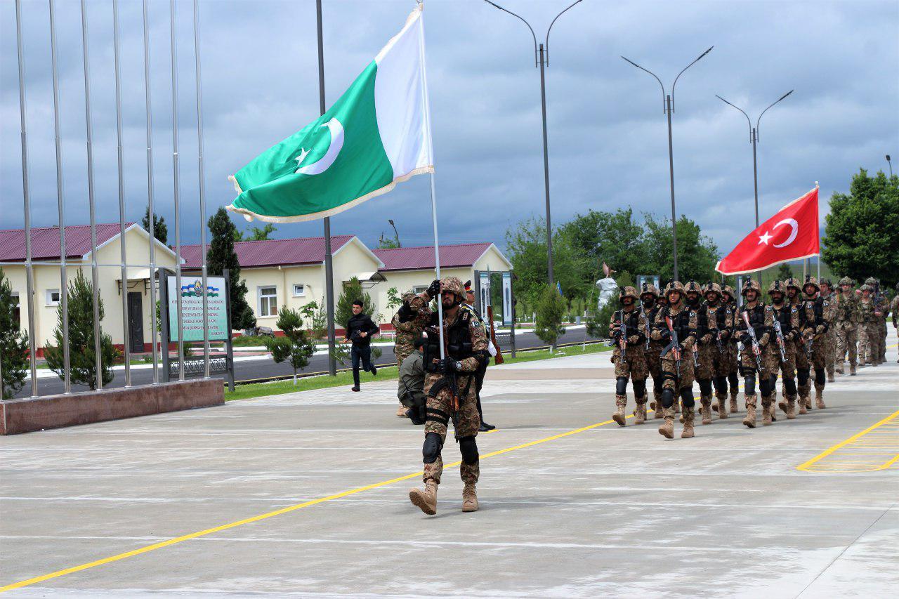«Щит содружества – 2019»: военные Узбекистана, Пакистана и Турции приступили к учебно-боевой работе
