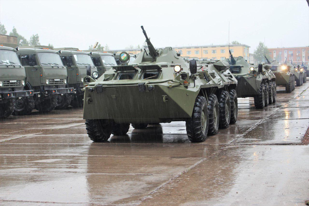 Войска Ташкентского военного округа приведены в высшие степени боевой готовности