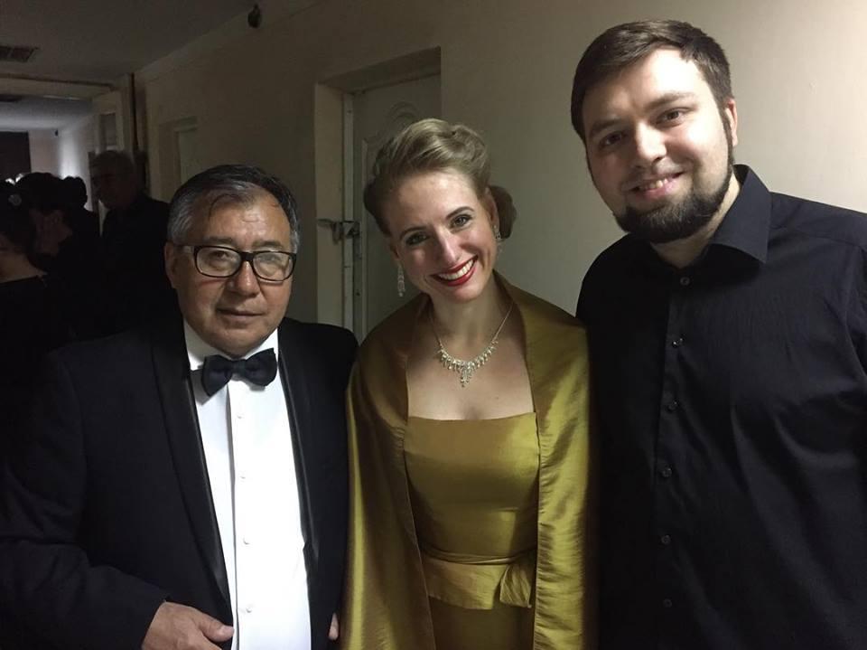 Концерт гостей из Германии состоялся в Ташкенте