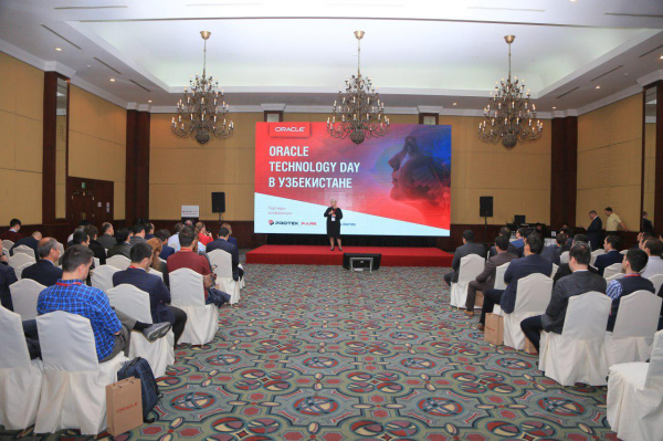 Мировой IT-гигант Oracle провел Technology Day в Ташкенте