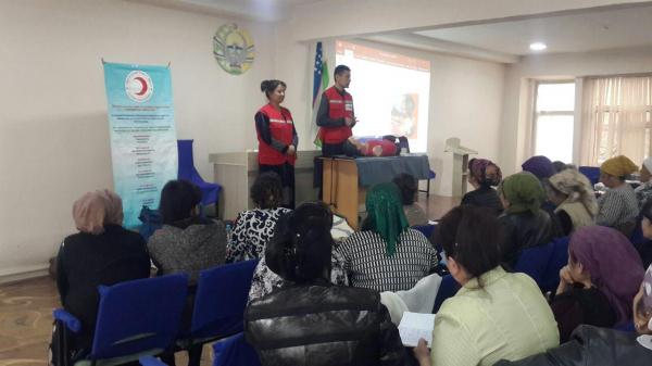 Общество Красного Полумесяца в Намангане готовит медсестер к чрезвычайным ситуациям