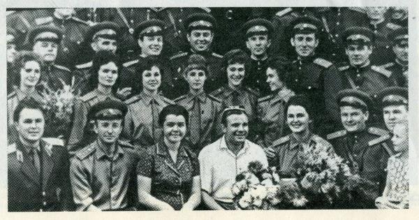 «К нам идет Гагарин!»