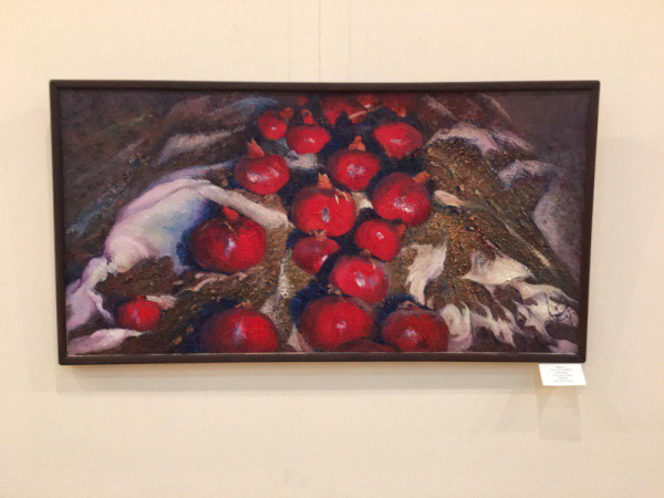 В столице проходит выставка художницы Зебинисо Шариповой