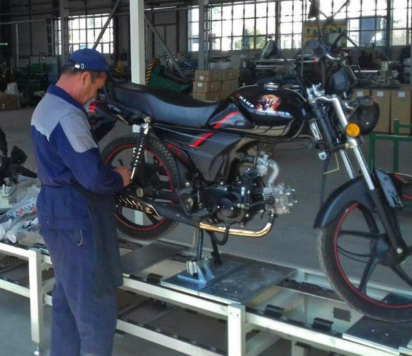 В Наманганской области запущено производство скутеров и мотоциклов