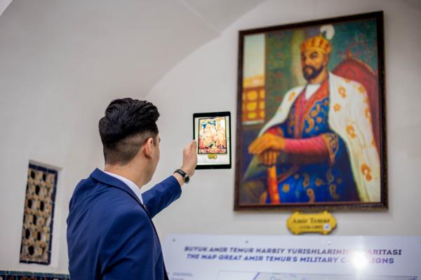 В Самарканде открылся первый в Центральной Азии Smart-музей