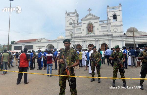 В Шри-Ланке погремели 8 взрывов, убиты больше 200 человек