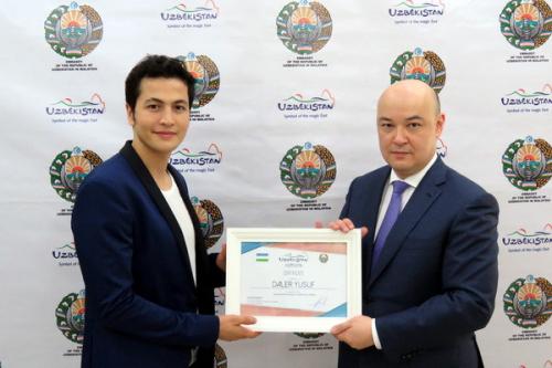 Популярный малазийский актер узбекского происхождения стал Послом туристического бренда Узбекистана
