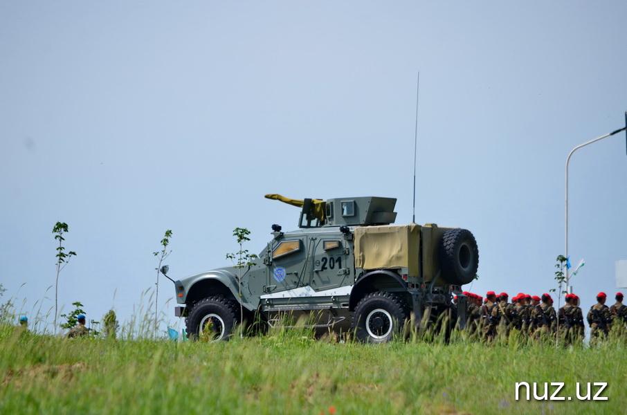 Танковые сражения развернулись на полигоне «Чирчик»