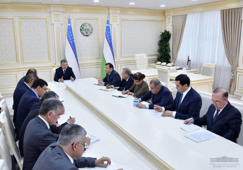 Медленно и неэфффективно: Шавкат Мирзиёев подверг критике реализацию инвестиционных проектов