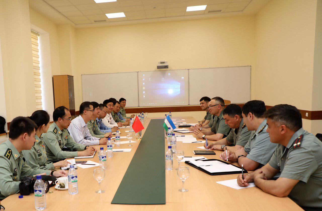 Делегация НОАК ознакомилась с вопросами подготовки военных кадров в Узбекистане