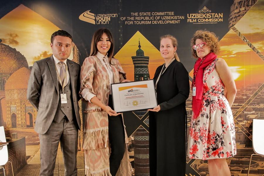 Узбекистан стал официальным членом Международной ассоциации киномиссии (AFCI)