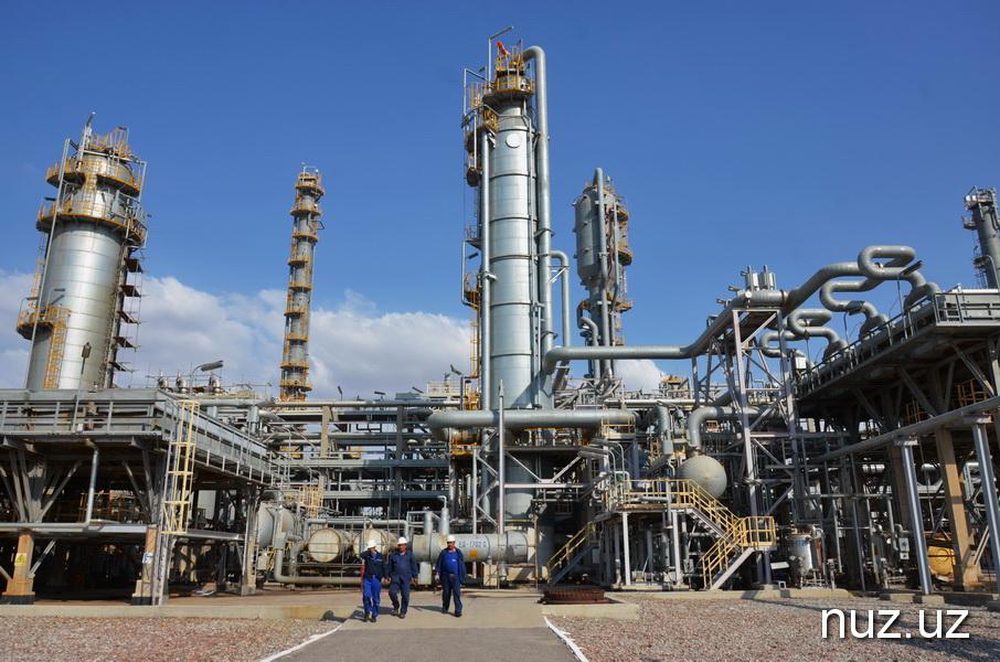 В Кашкадарье создается первый в Узбекистане нефтехимический кластер (фото)