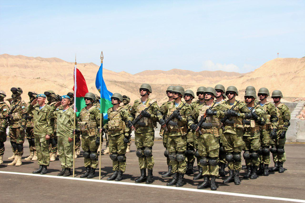Спецназ Беларуси и Узбекистана выполнил боевую задачу и завершил учения (фото)