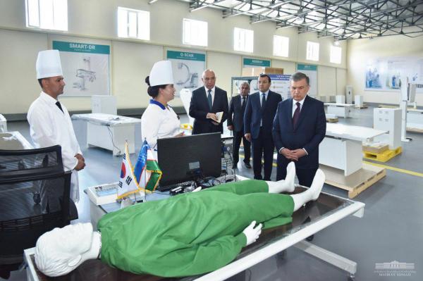 В Узбекистане создано первое в стране предприятие по выпуску рентгеновского оборудования