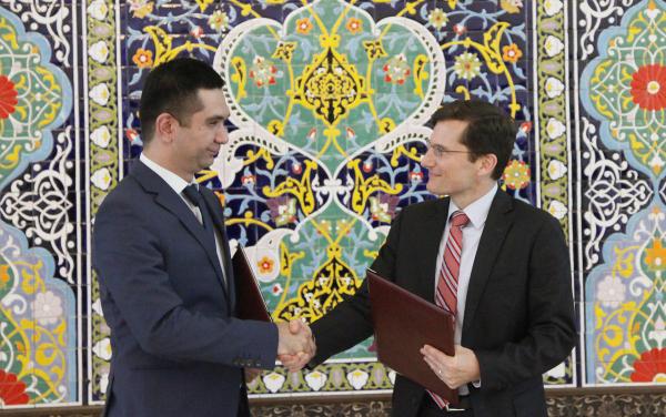 Visa и Центробанк договорились о развитии инфраструктуры цифровых платежей в Узбекистане