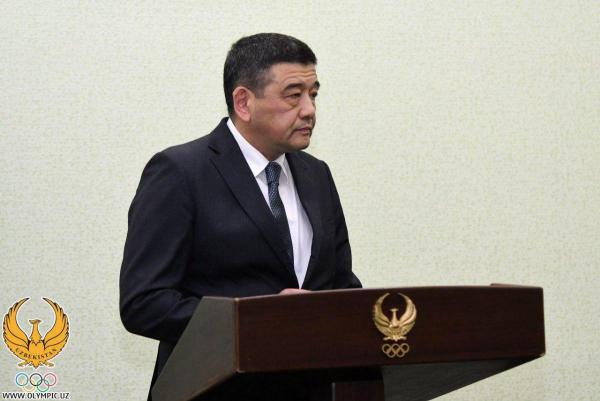 Новым президентом Национального олимпийского комитета стал бывший хоким столицы