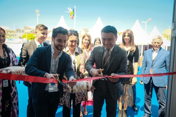 Национальный павильон Узбекистана в Каннах начал работу